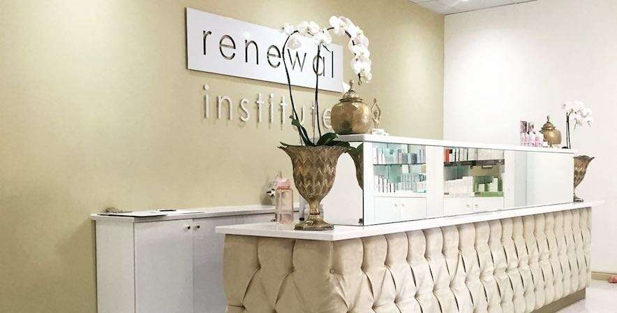 Body Renewal Stellenbosch reception area at Die Boord Shopping Centre